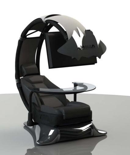 넥슨컴퓨터박물관, 누워서 PC하는 의자 '눈길'