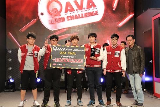 아바(A.V.A), '2014 오픈 챌린지' 'clanHeat White' 우승!