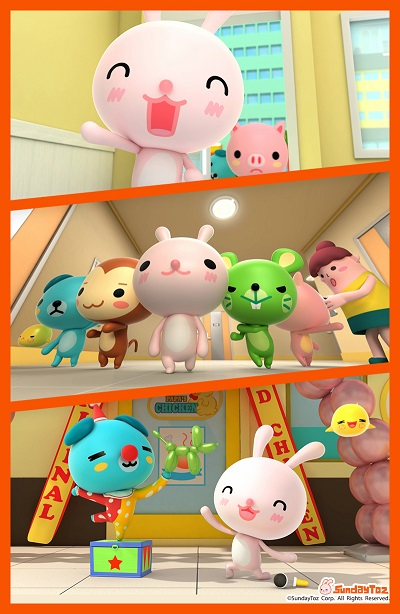 선데이토즈, '애니팡' IP 활용 애니메이션 만든다